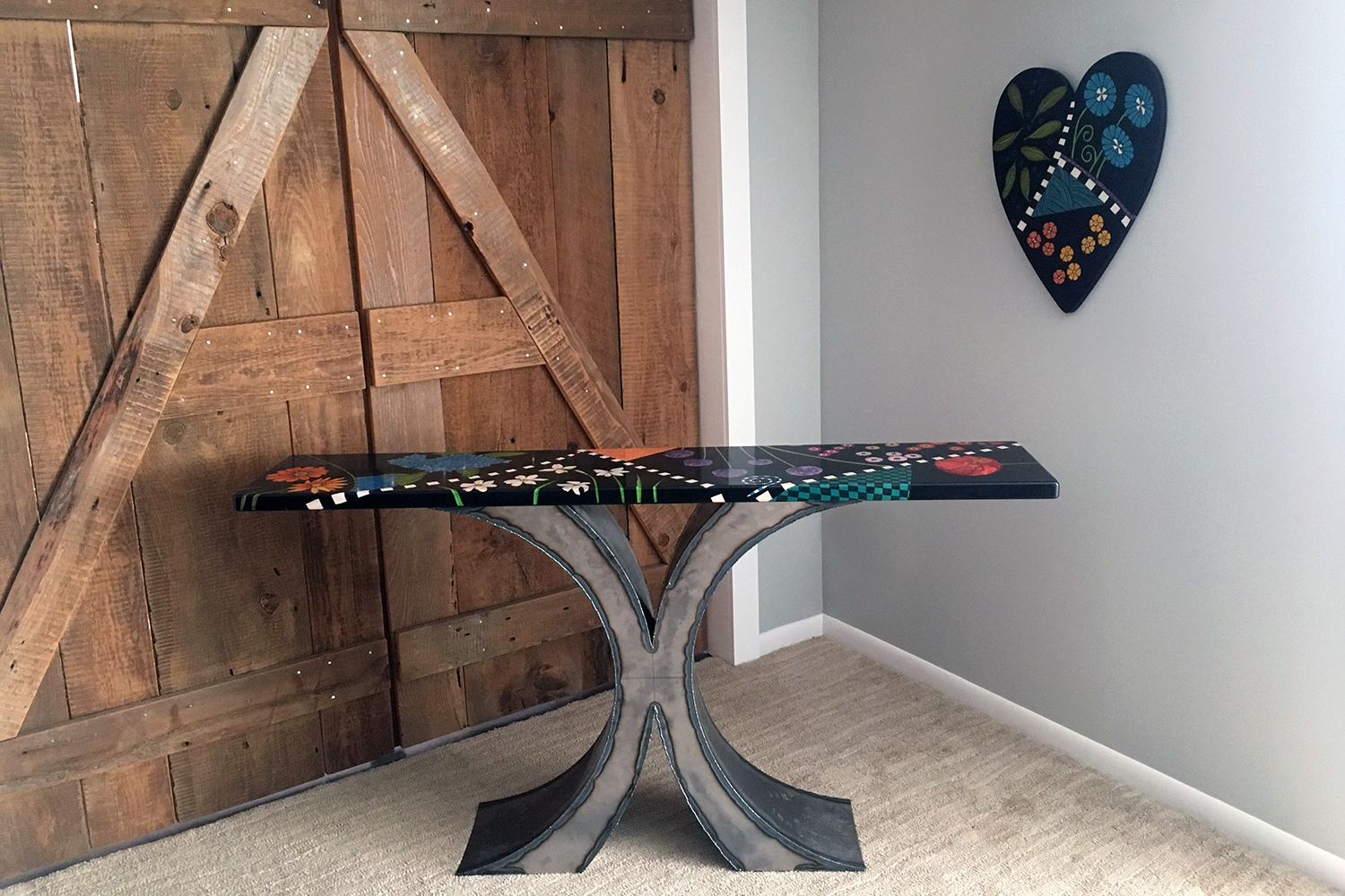 Dream of Flowers Console Table