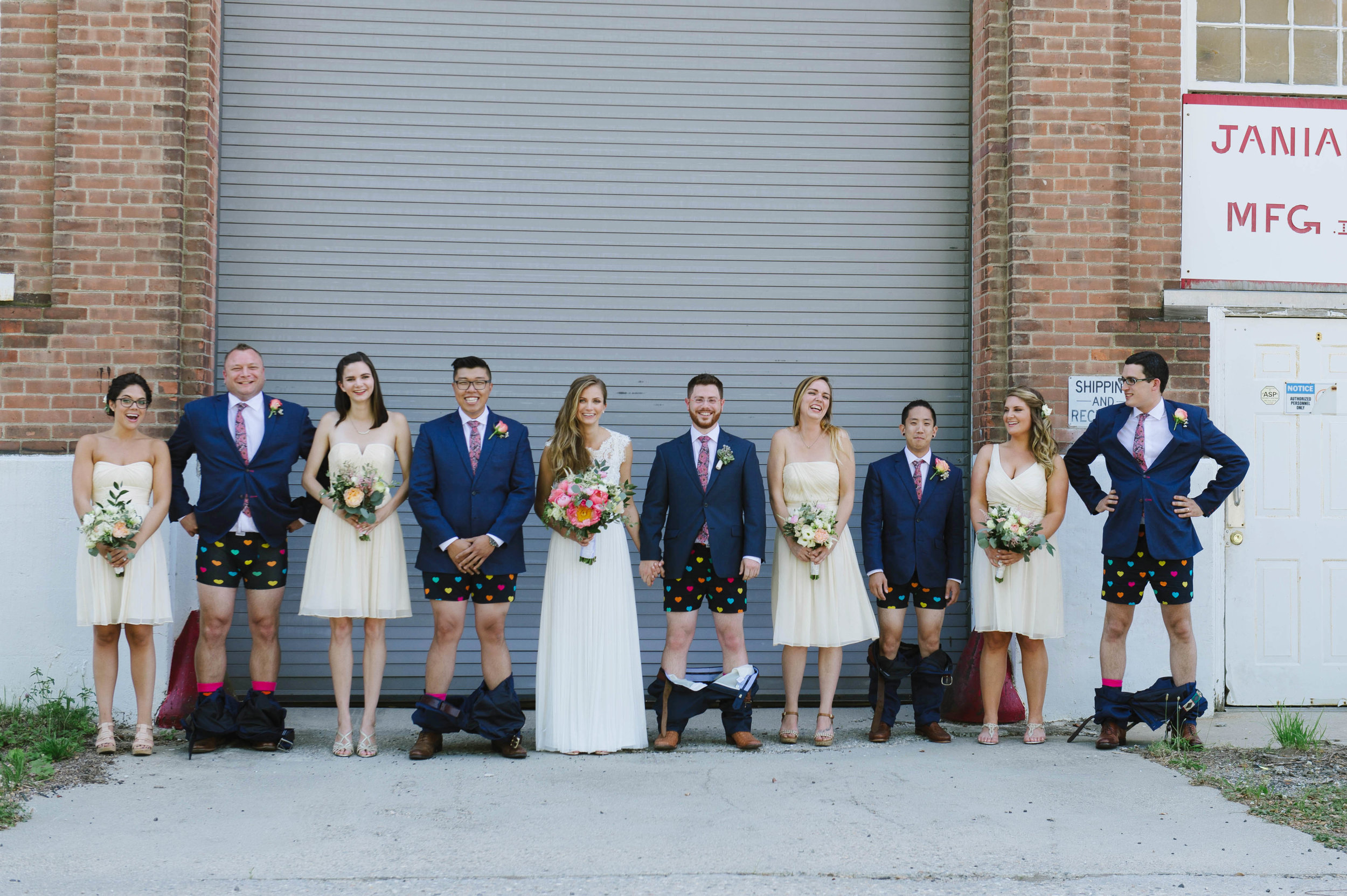 JASON + EMILY BACKYARD WEDDING