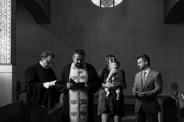 Family Baptism, Milton, Massachusetts
