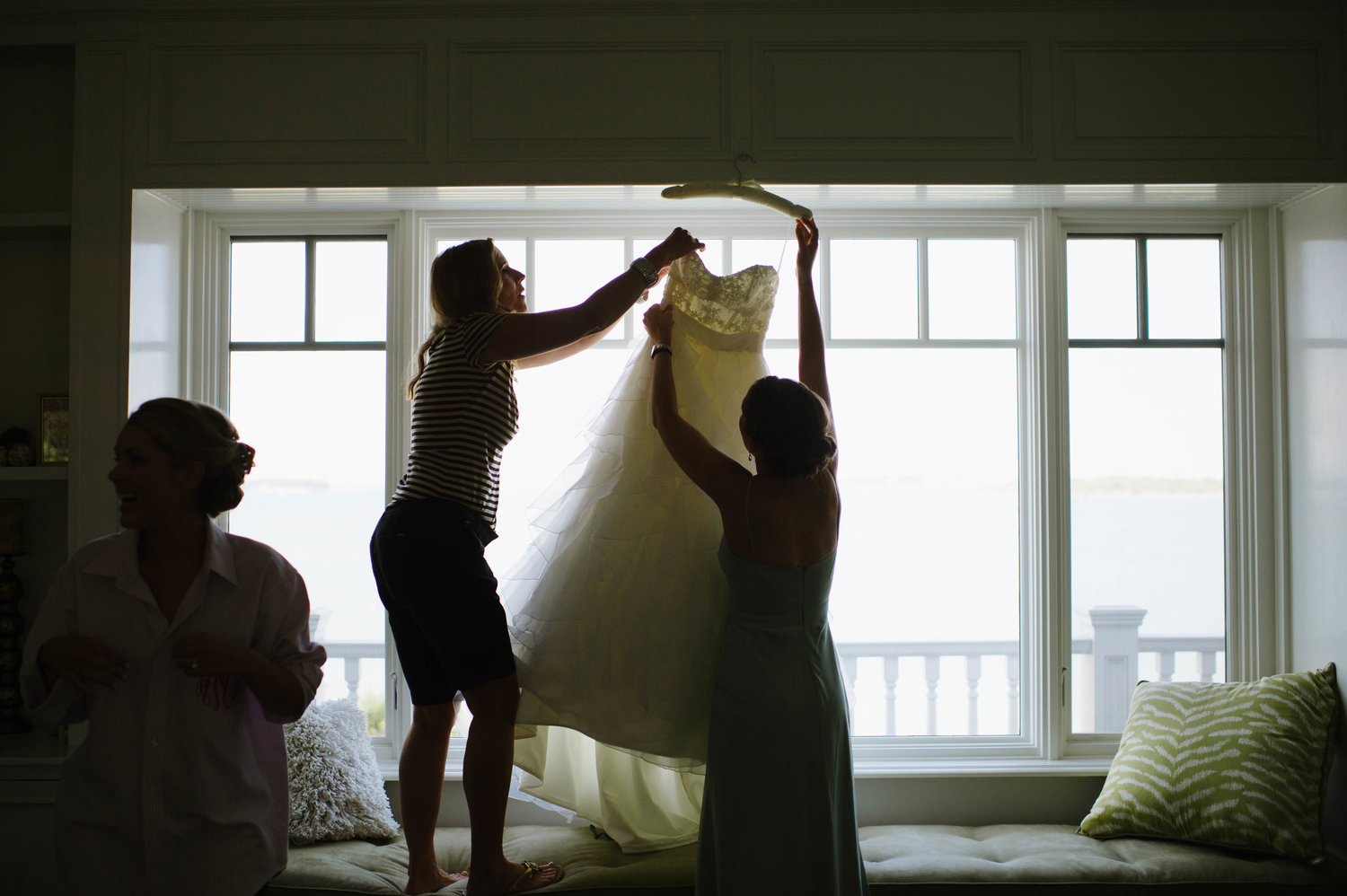 From ALly + Paul's Wedding,  The Atlantica , Cohasset