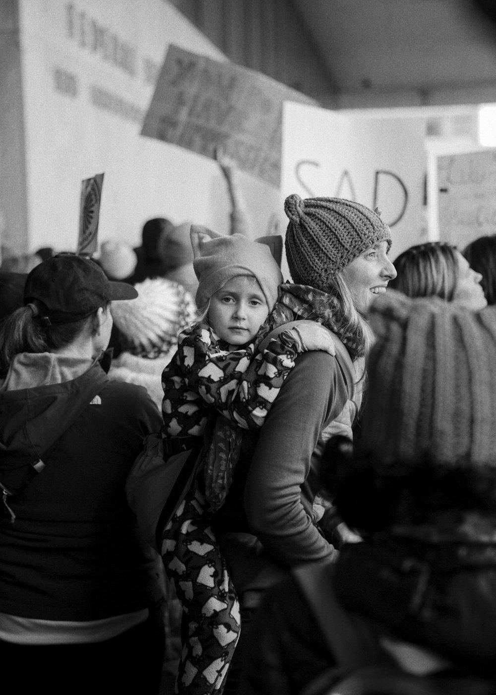 CHILDREN OF THE REVOLUTION     the women's march on washington