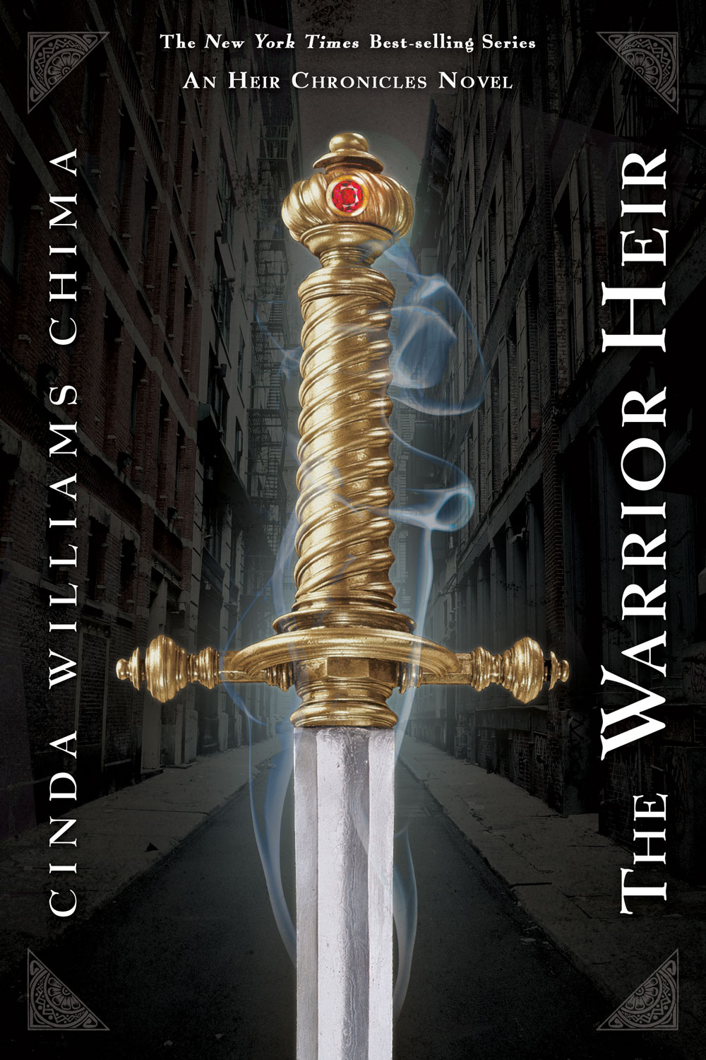 THE WARRIOR HEIR By Cinda Williams Chima in OutlooK-12 Magazine