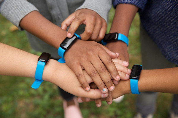 UNICEF Kid Power to give more than 70,000 students across the country the power to get active and save lives in 2016. Photo Courtesy of U.S. Fund for UNICEF.