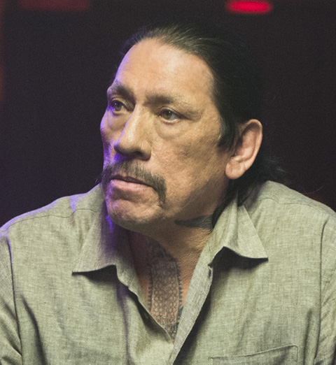 """Actor Danny Trejo (pictured here when he guest starred as Tuhon on """"NCIS: Los Angeles"""")   spoke out following L.A. school violence.   Photo: Neil Jacobs/CBS ©2014 CBS Broadcasting, Inc. All Rights Reserved."""