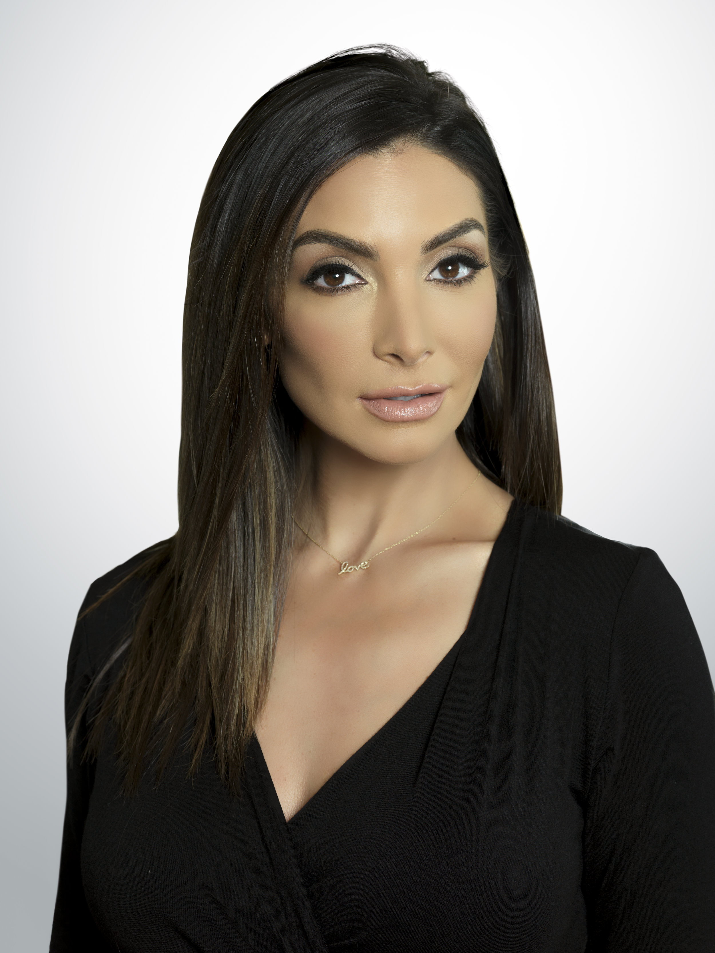 Courtney Lopez, Mario's wife and on-air colleague.