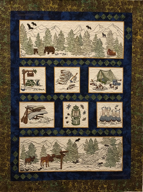 Call of the Wild Quilt