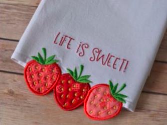Life is Sweet Tea Towel