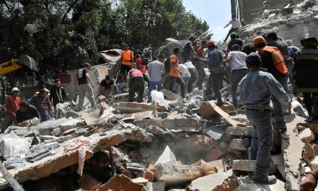 Mexico City Earthquake, September 20, 2017