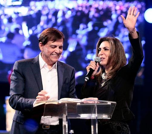 Apostle Estevam and Sonia Hernandez