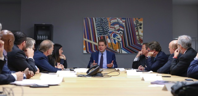 CCAL members meeting with the Honorable Andrew Scheer in Ottowa, Ontario