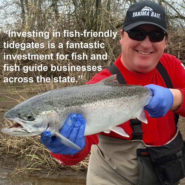 Local fishing guide, David Johnson, has over 20 years of experience. Thanks for the testimonial @TillamookFishin! #tillamookbay #tillamookcounty #tillamookoregon #tillamookcoast #madeinoregon #fishingoregon #tidegates #compatiblerestoration #exploreoregon #oregoncoast