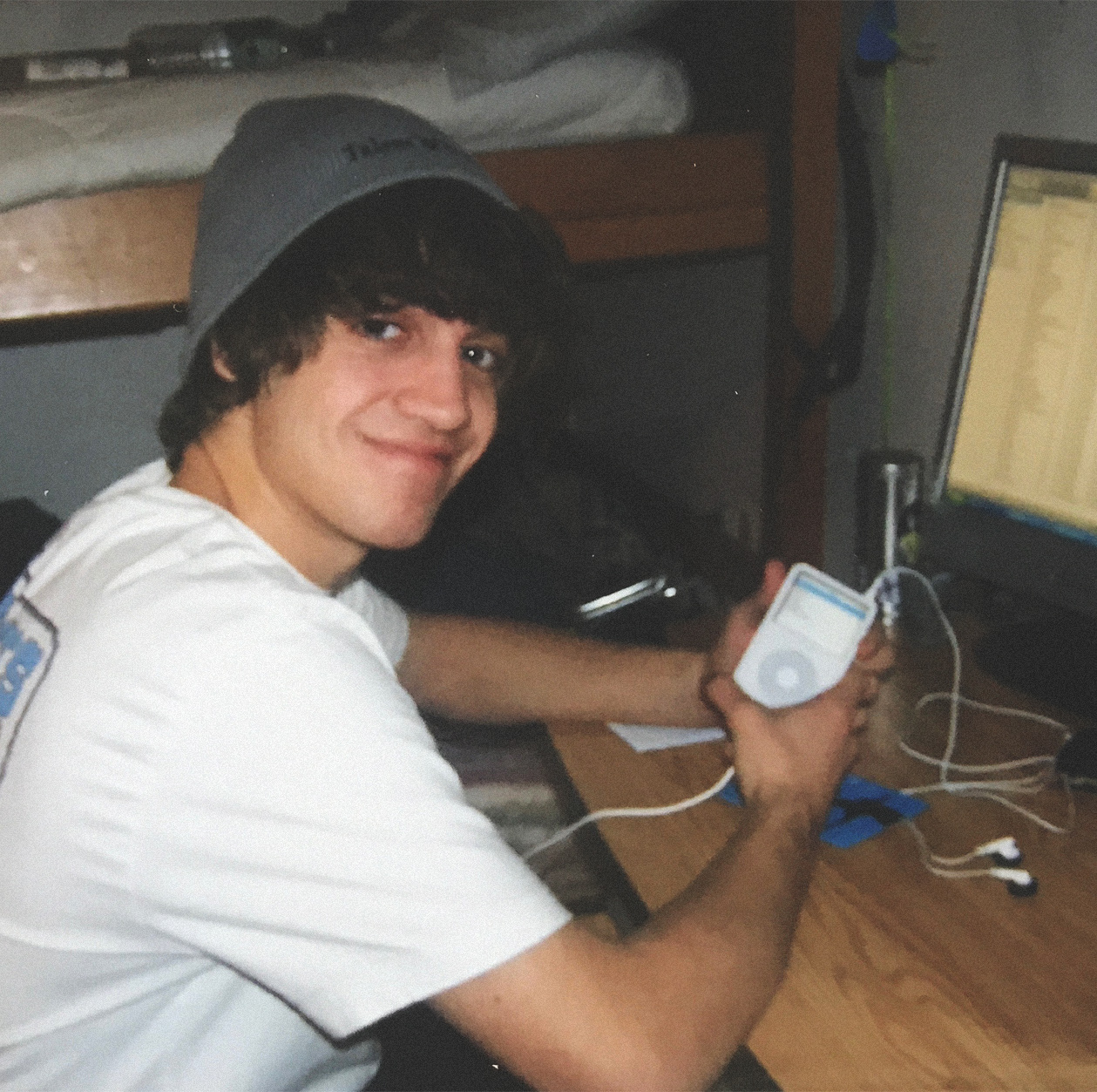Back in high school. That's the very first computer I started editing on.