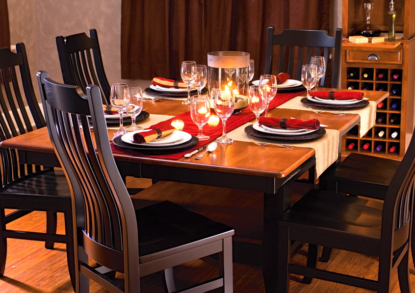 Build Your Own Table with Urbandale Chairs