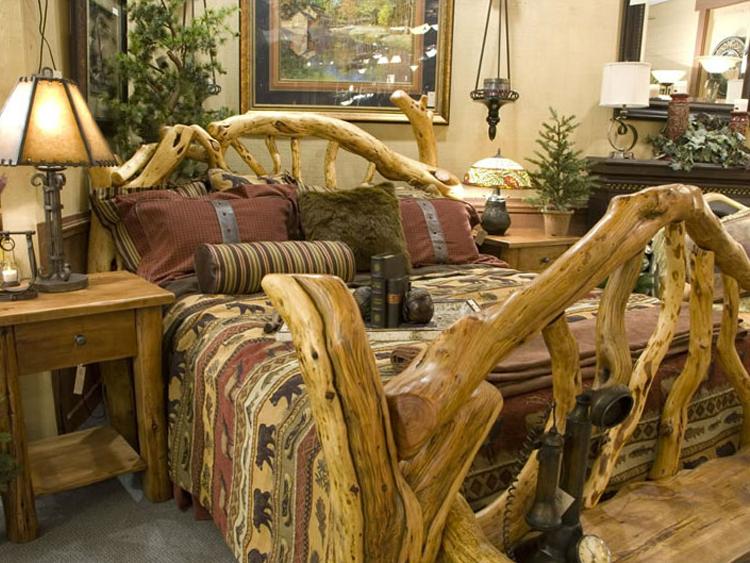 Manzanita Bed Locally Built