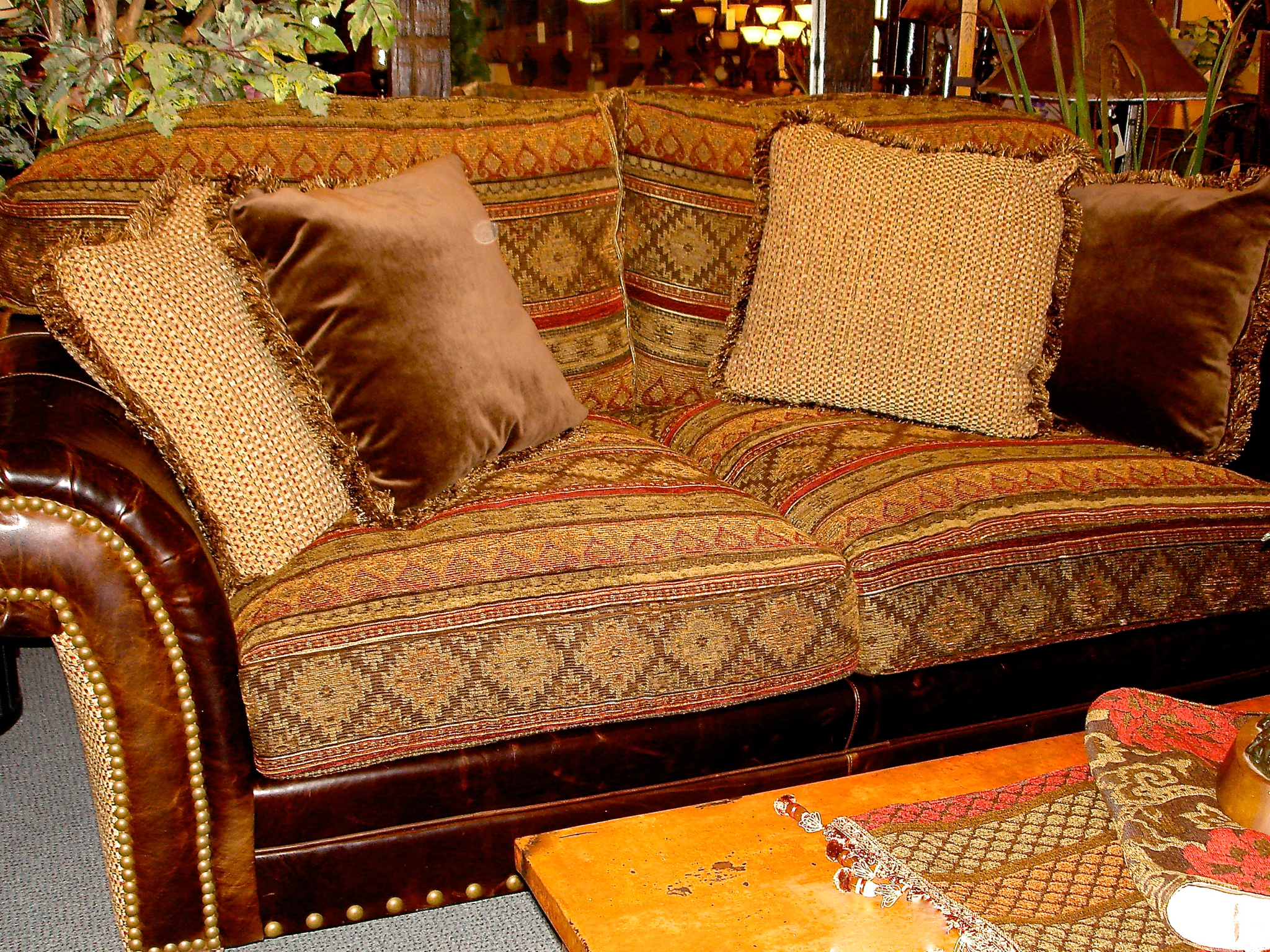 Deep Two-Seated Luxury Sofa