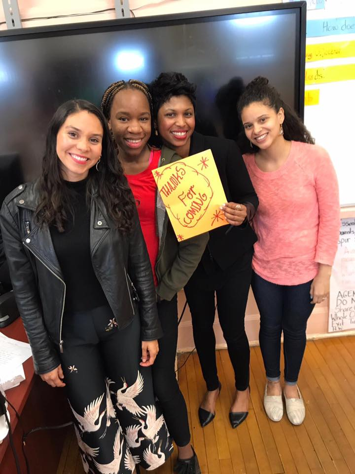 PATH High School student surprises Guest Speaker, Fashion Trend Forecaster, Roxana Naranjo, and the Financially CLEAN team with a thank you note and shares her dream of pursuing a career in fashion.