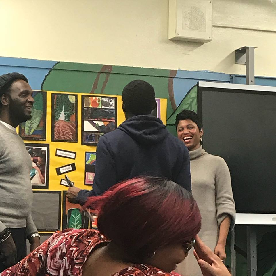 Parents and kids had fun learning Personal Branding 101 and engaging in a Networking Role Play exercise.