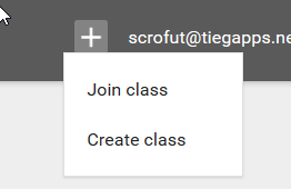 Click on Create class. Name your class, add a section number, if applicable, and click on create.   Theme   Let's start by setting the tone of your class with the theme. If you click on Select Theme in the right hand corner of the header bar, you will get to the gallery with a number of options to choose from.