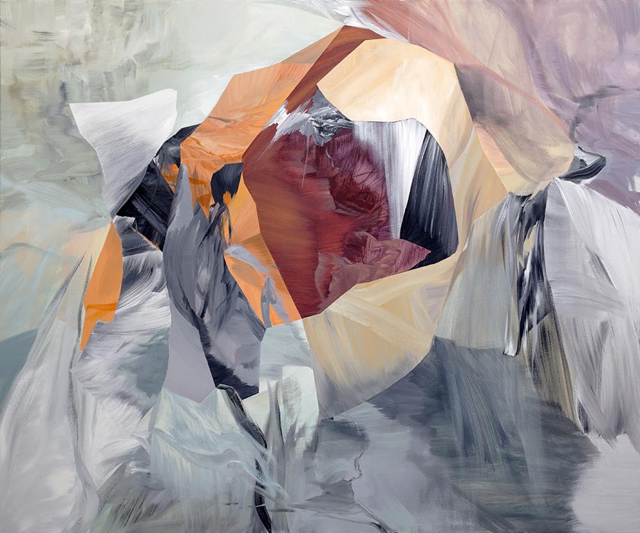 "Gemini     acrylic on canvas  60"" x 72"""