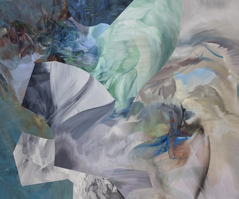 "Midday Sorceries     acrylic on canvas  60"" x 72"""