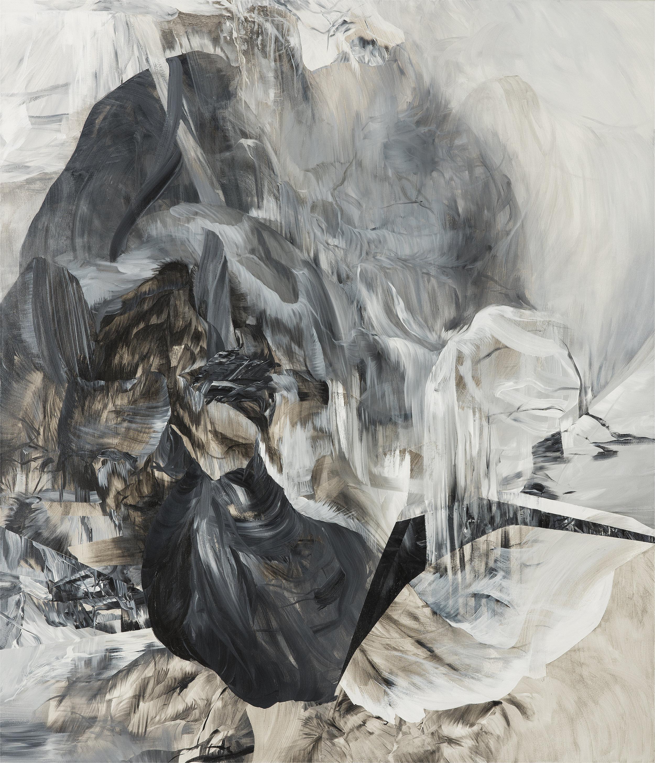 """Altar - Triptych   (center)   acrylic on canvas  84"""" x 72"""""""