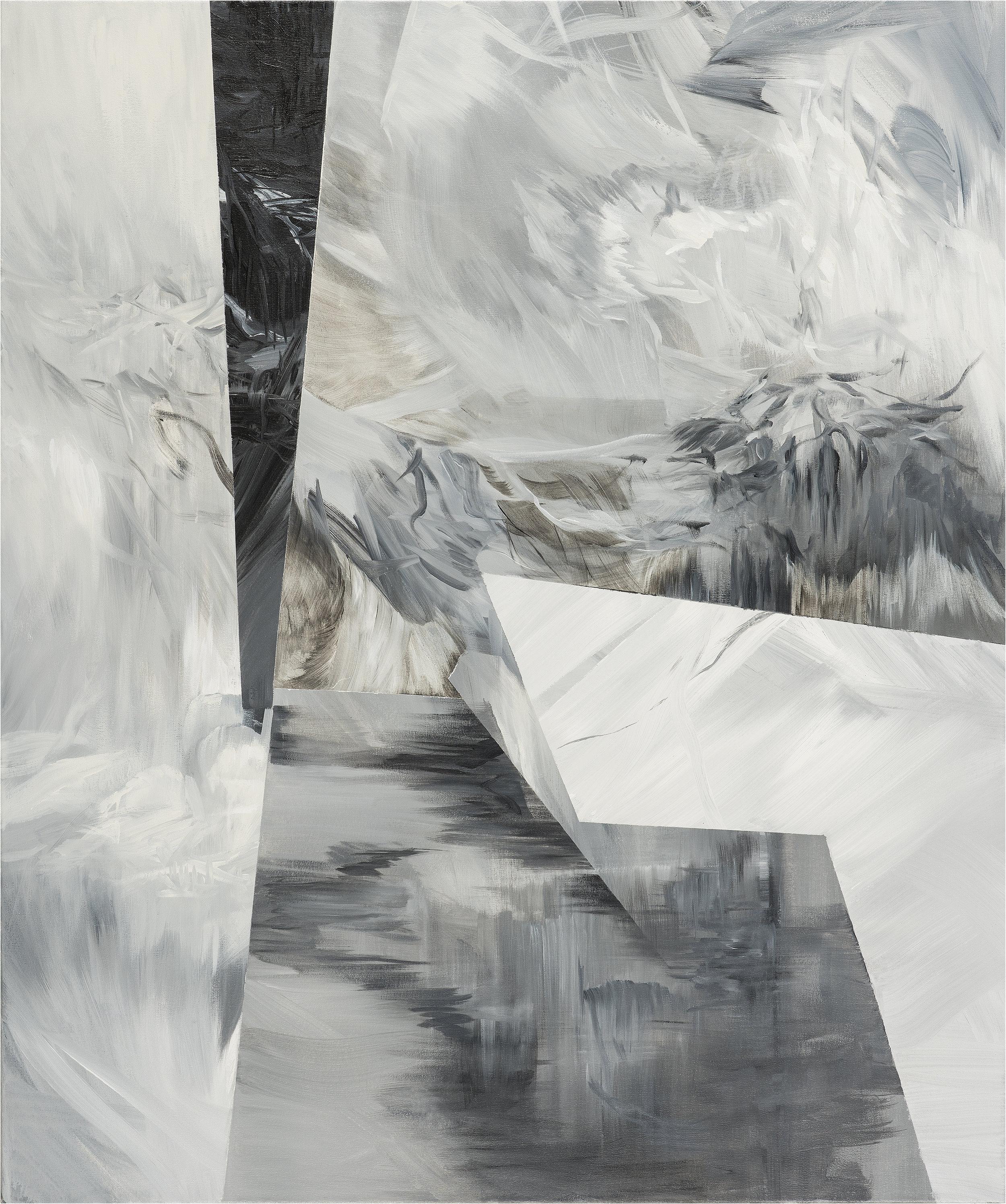 "Altar - Triptych   (right side)   acrylic on canvas  43"" x 36"""