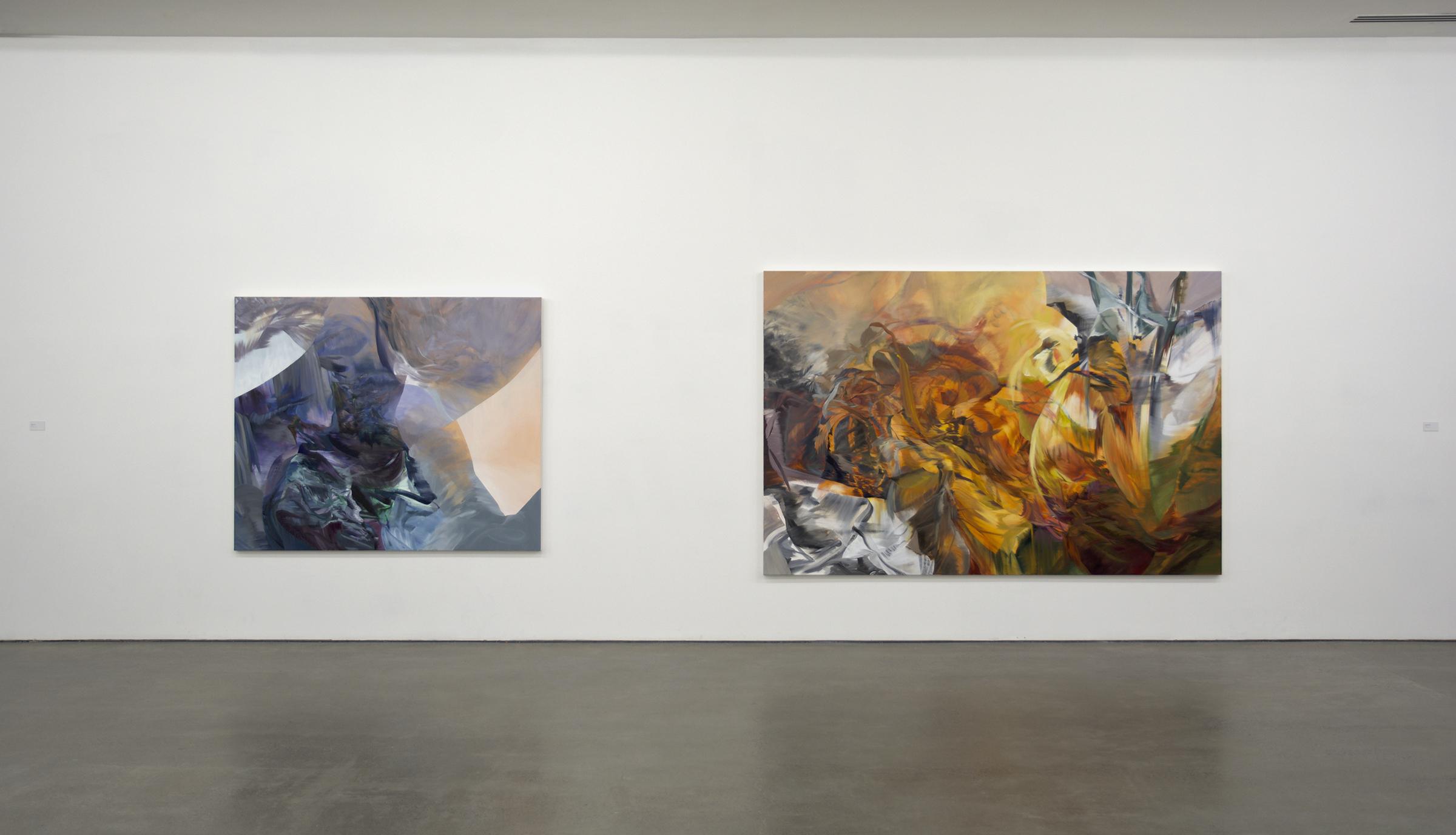 Melanie Authier, installation view  Contrarieties & Counterpoints , 2017 Galerie de l'UQAM, photo credit: Galerie de l'UQAM