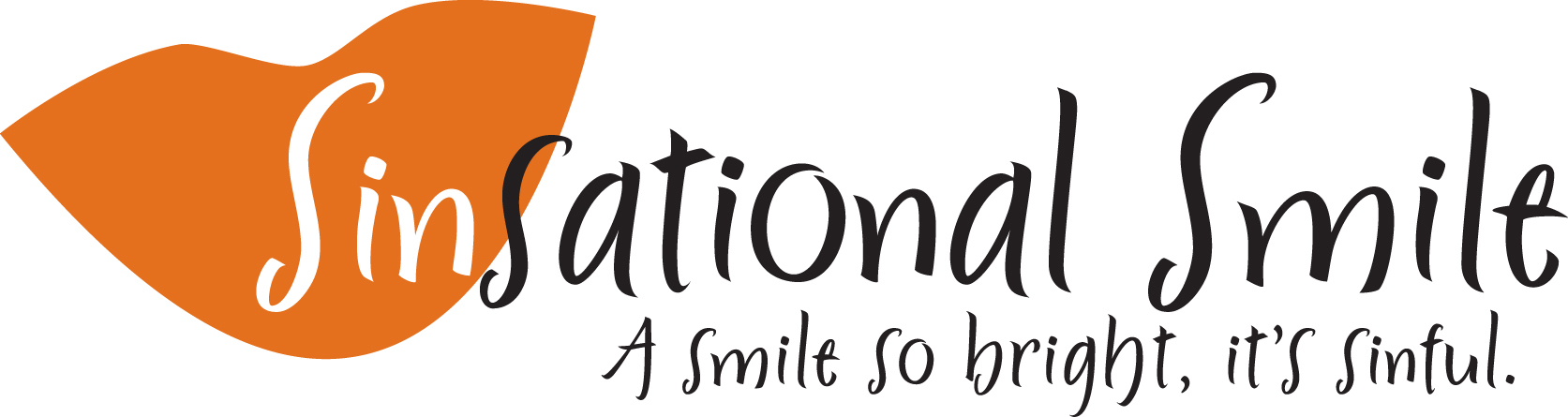 Sinsational Smile Logo