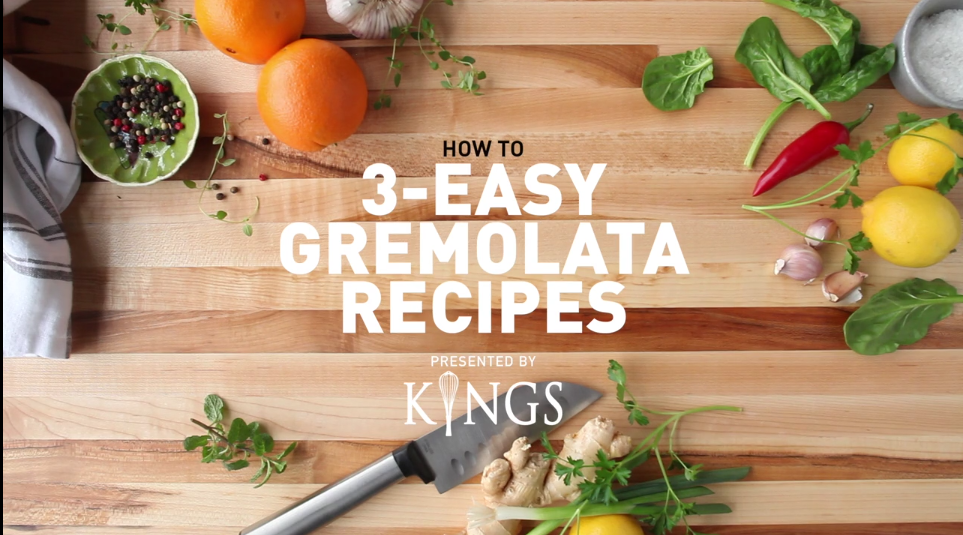 Kings Gremolata Recipe