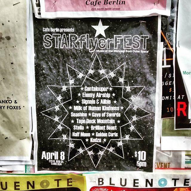 How about those flyers though? #stillup #zerothankstostudenthousingflyers #STARflyerFEST