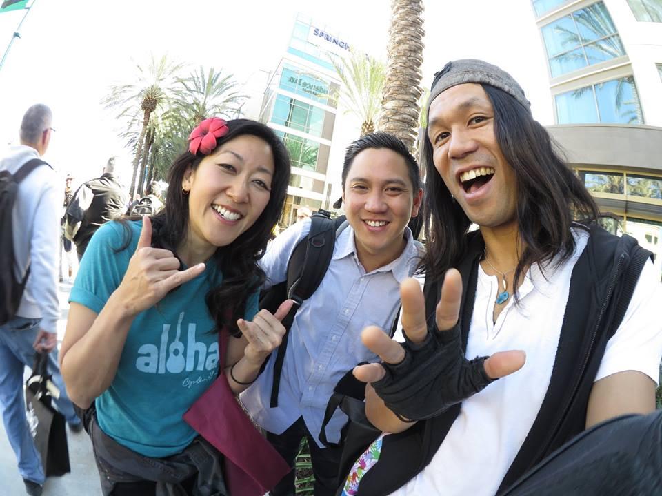 Hang with Abe Lagrimas Jr. & Cynthia Lin!
