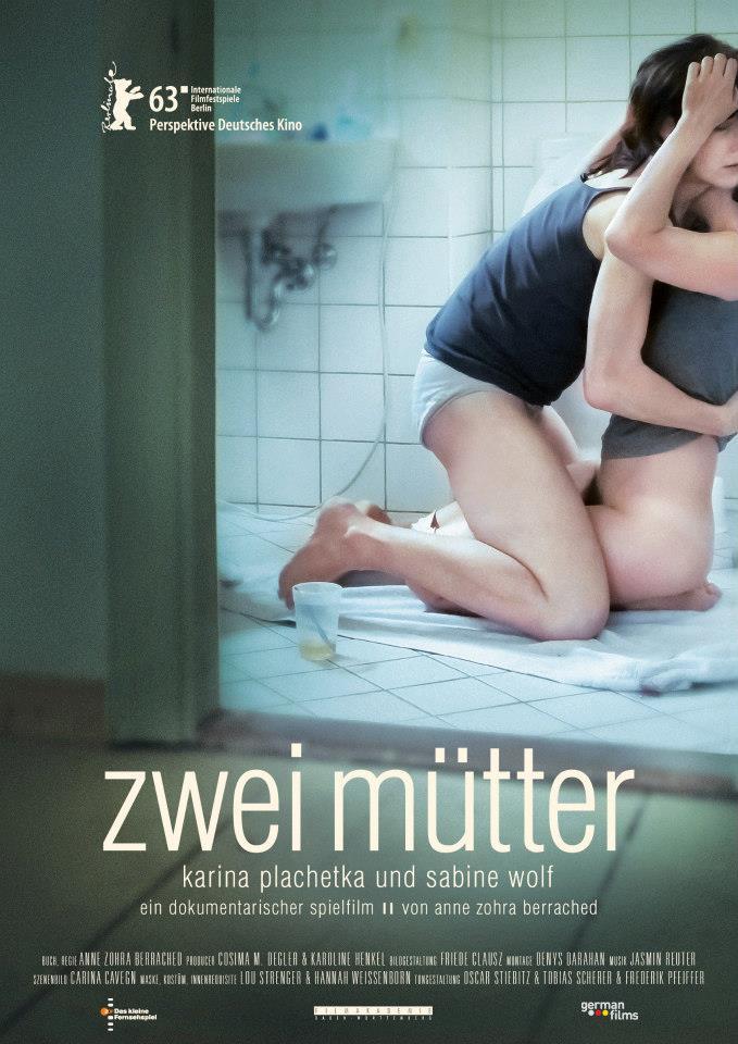 Zwei Mütter - Hybrid Documentary, 79 min, 2013produced by ZDF - das kleine Fernsehspiel, directed by Anne Zohra BerrachedsynopsisKATJA (43) und ISABELLA (37) entschließen sich, ein Kind zu zeugen. Das verheiratete Paar ist sich einig: Sie wollen keinen Dritten, der Mitspracherecht hat. -Das Sperma, keinen Vater. Wie viele lesbische Paare in Deutschland müssen sie feststellen, dass der Weg zum gemeinsamen Kind schwieriger ist als sie gedacht hätten: Die meisten Samenbanken und Kinderwunschkliniken lehnen es aus rechtlichen Gründen ab, gleichgeschlechtliche Paare zu behandeln.preise und screenings- ZDF kleines Fernsehspiel- Berlinale Perspektive Deutsches Kino- DFJW Preis Dialogue en Perspective