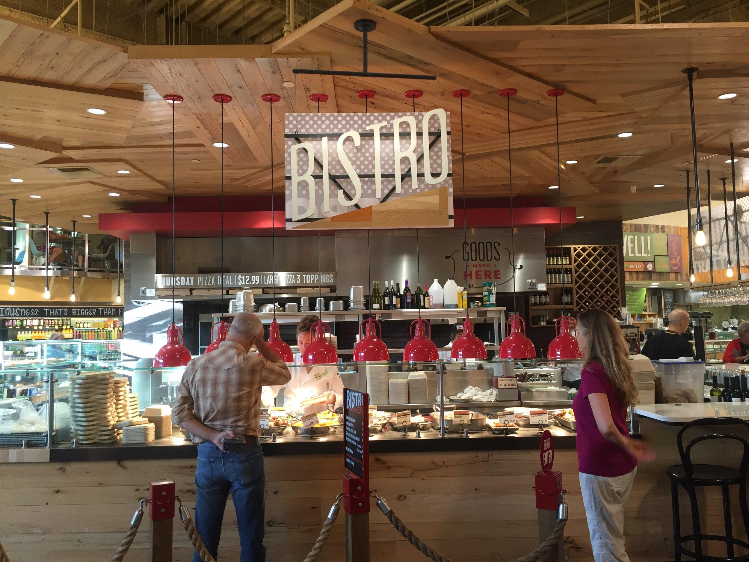 Bistro inside Whole Foods Market in Austin, TX