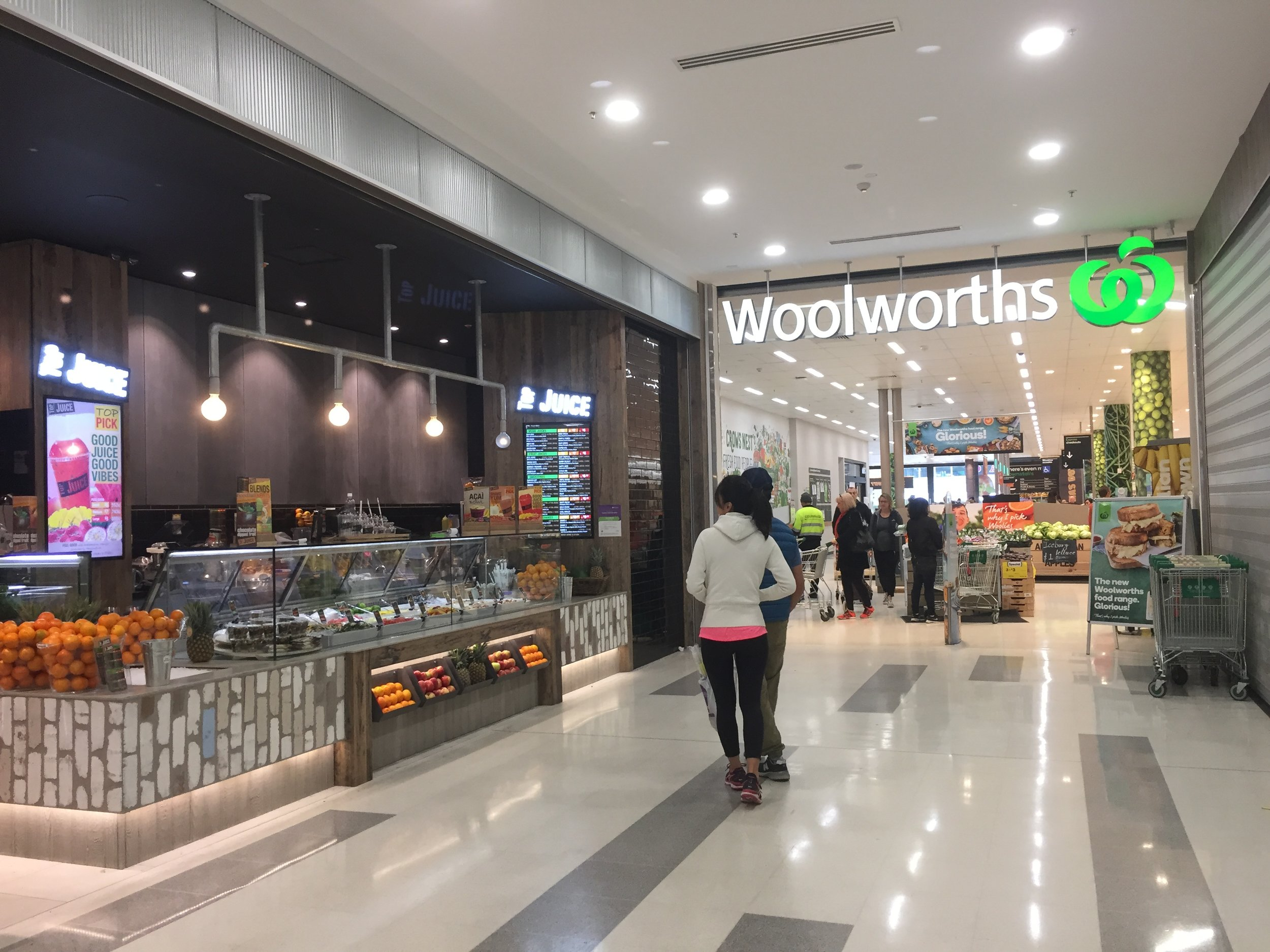Woolworths - Crows Nest, Sydney