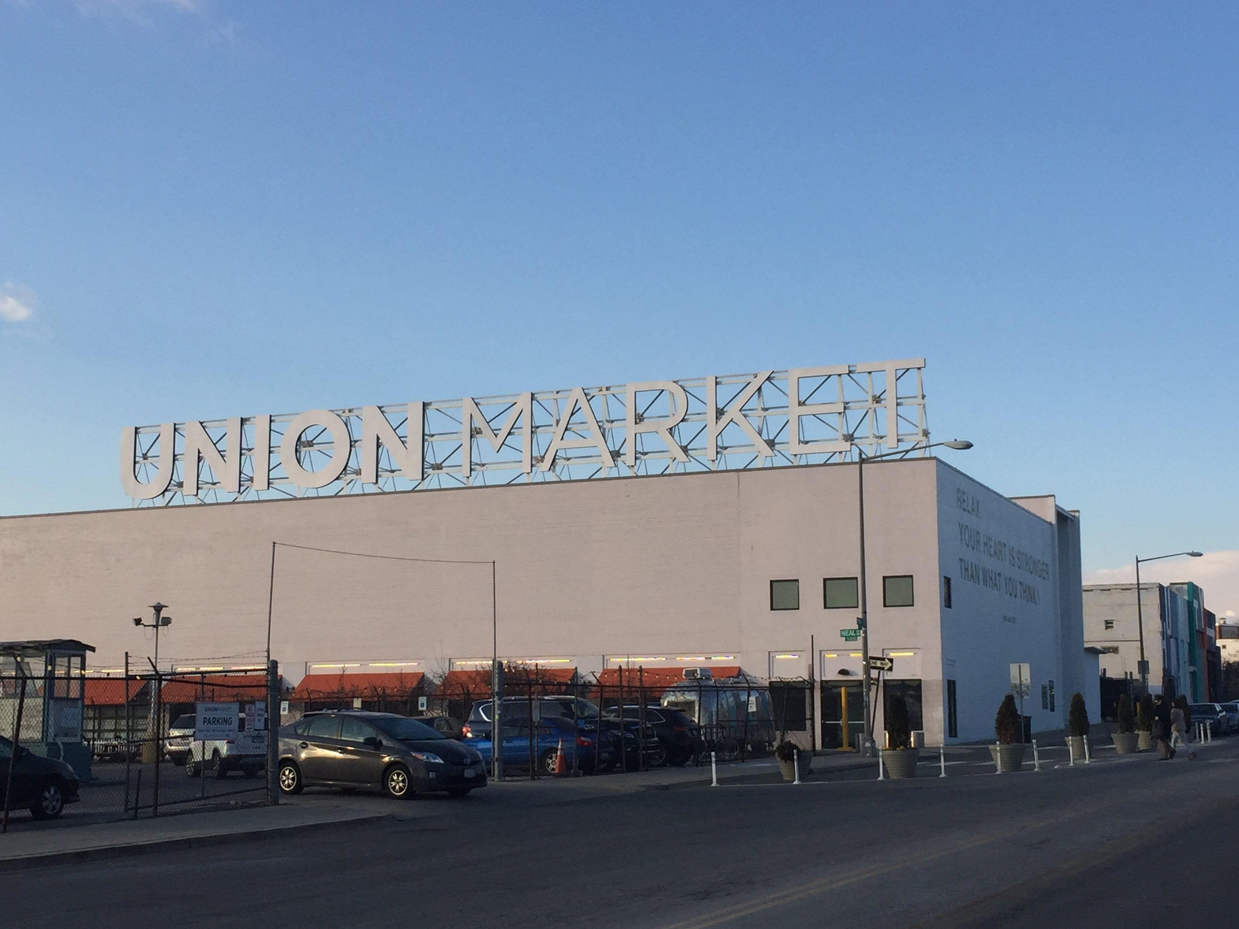 Union Market, a upscale food hall, in Washington, DC