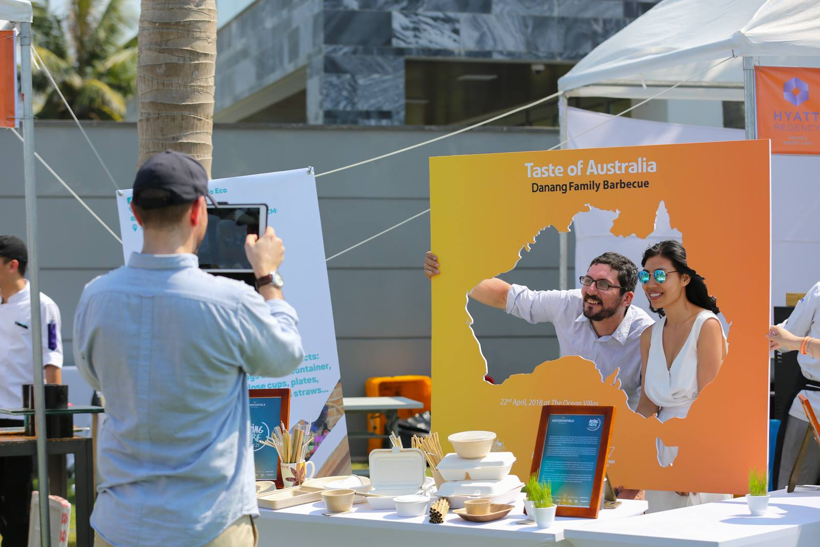 Consumer events, like this one featuring a Taste of Australia. Photo source: Austrade.