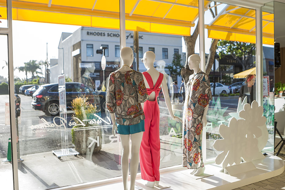 Courtesy of Forest Casey, Trina Turk's store in Larchmont Village