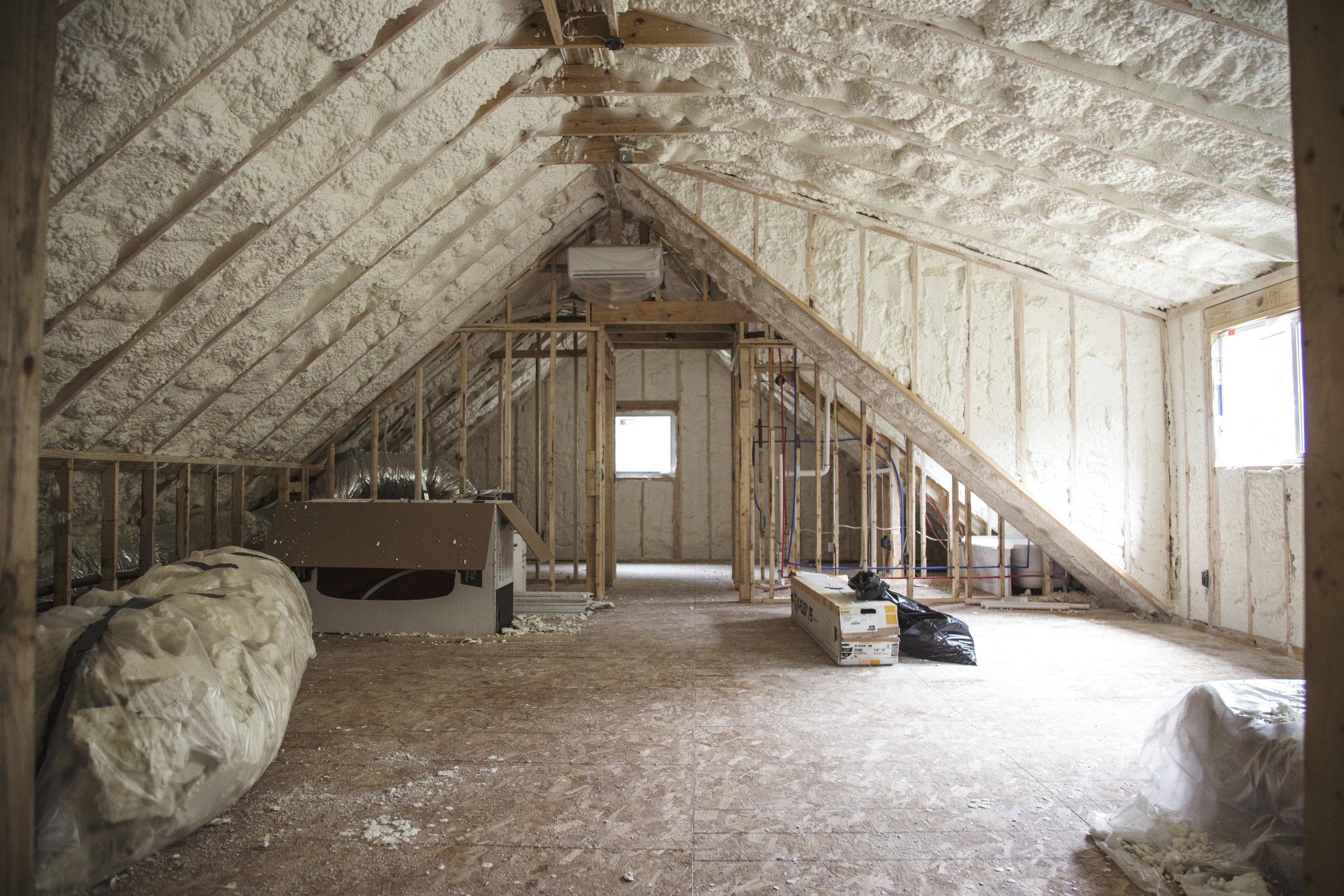 Matt + Alyssa's loft renovation