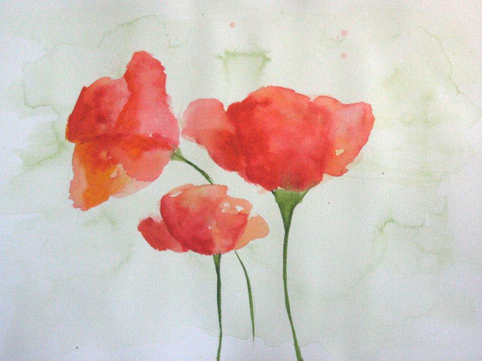 Watercolor by Megan DeWhitt