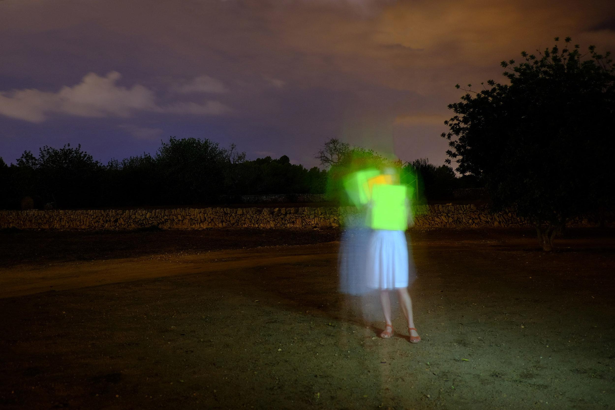 Isha Bohling, Signal 2016. Ses Dotze Naus, Ibiza, Spain