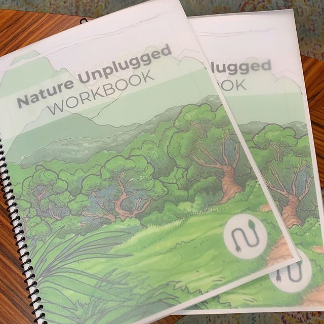 🌿 NU Workbook time 😎 - - - - - - #nature #natureunplugged #workbook #wellness #mindfulness #mindset #play #unplug #unplugged #tech #technology #boundaries #optoutside #adventure #leadership @sebastianslovin @mohalovin @natureunplugged
