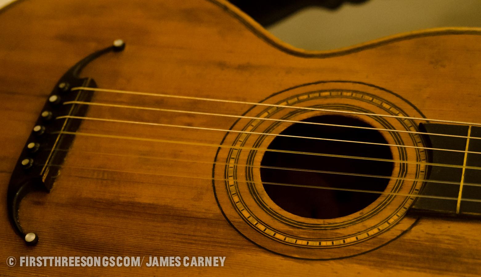 James Joyce's guitar
