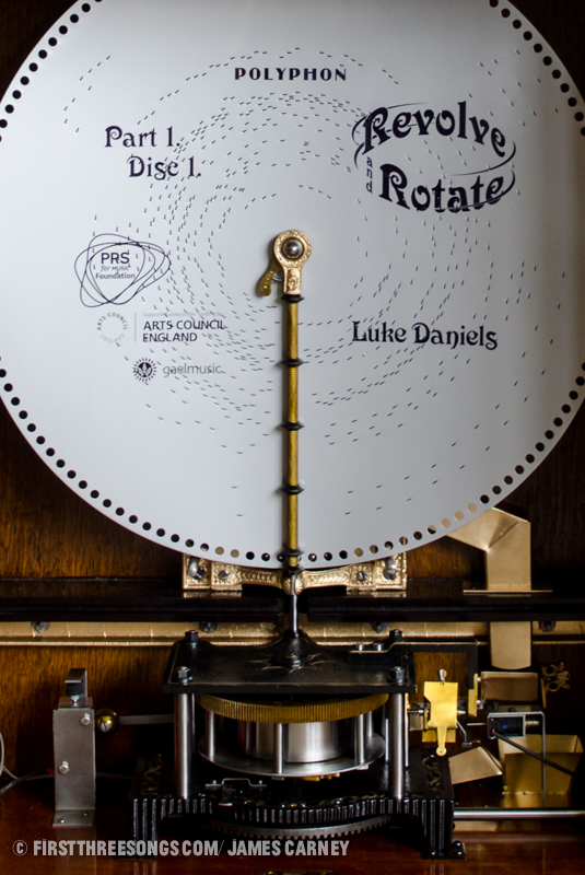 Luke Daniels' 19th century polyphon