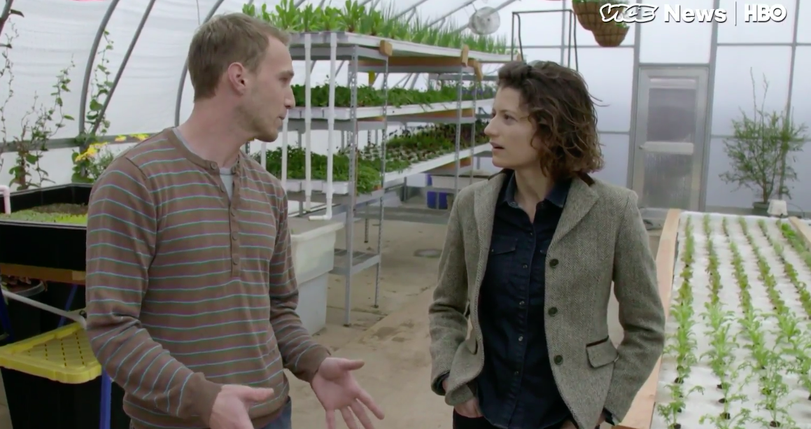 VICE NEWS on HBO: The Power of Fish Poop at The Perennial (video)