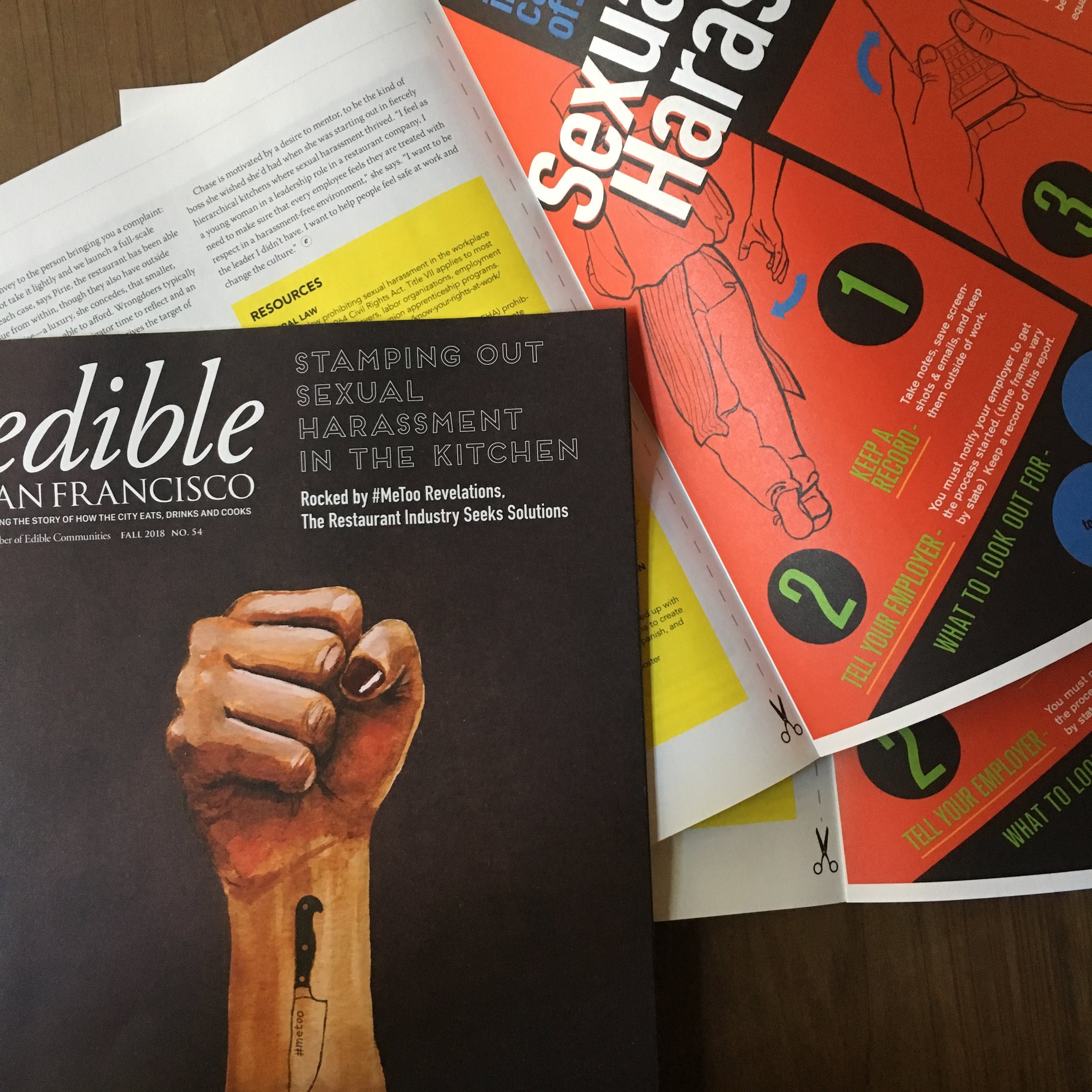 EDIBLE SF: Tamping Out Sexual Harassment