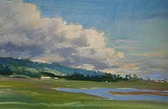 Cloud Front watercolor