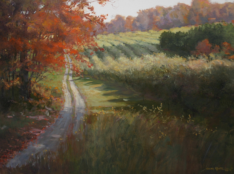 fall orchard 30 x 40 oil  S O L D