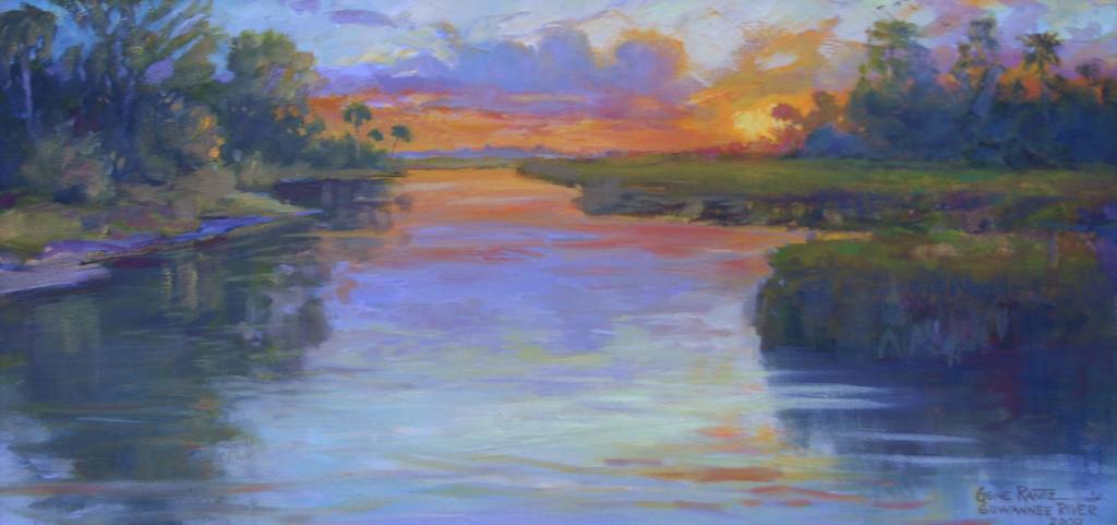 way down upon the suwannee river 12 x 24 giclee print