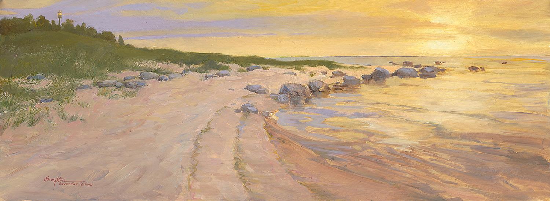 South Fox Island Sunset