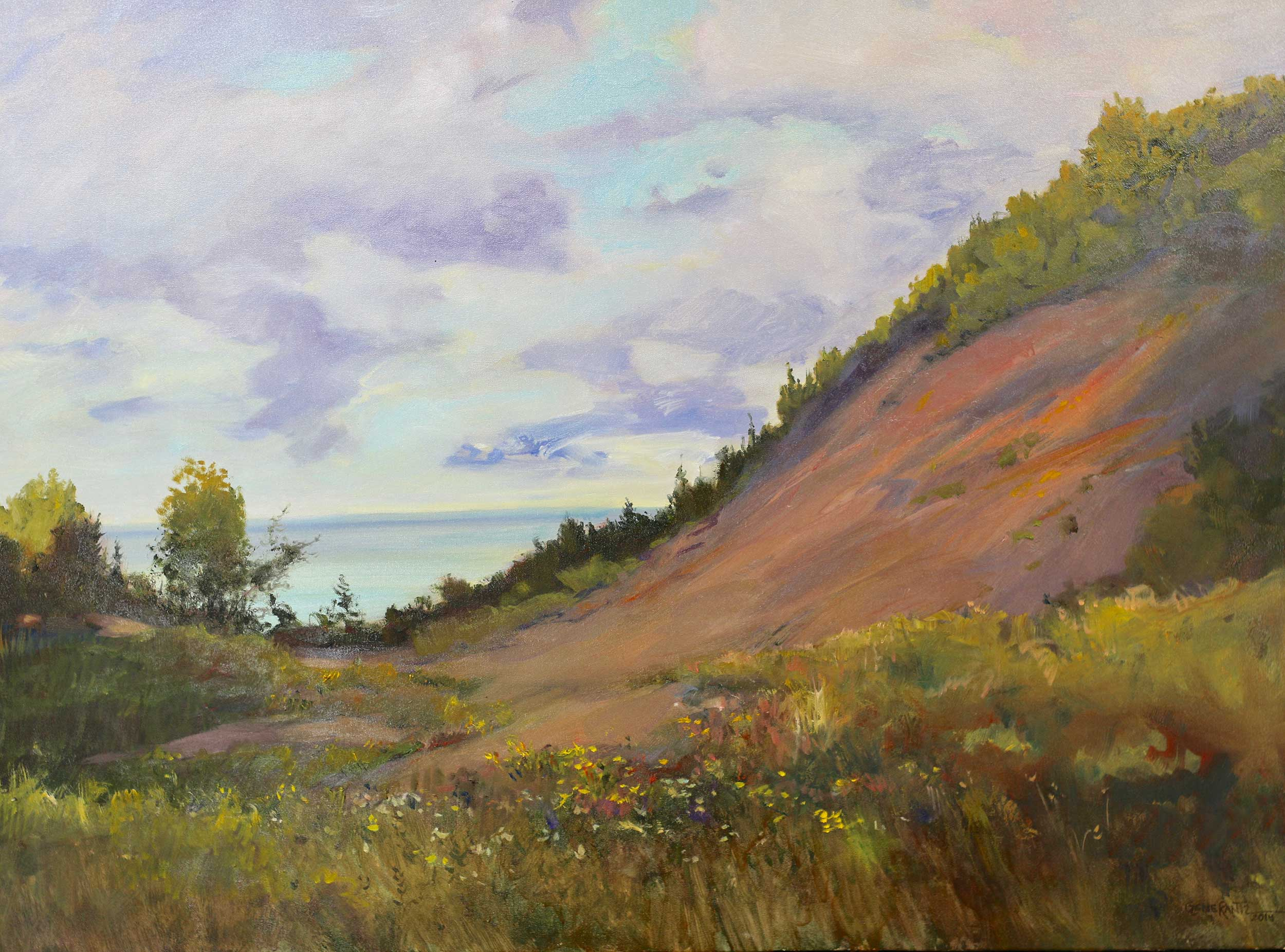 Sand Dune - Peterson Park 30 x 40 Oil On Canvas - S o l d